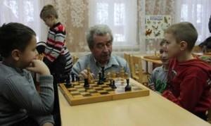 рождественские шахматы