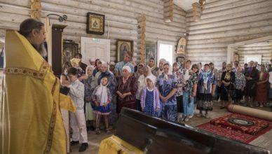 освящение церкви